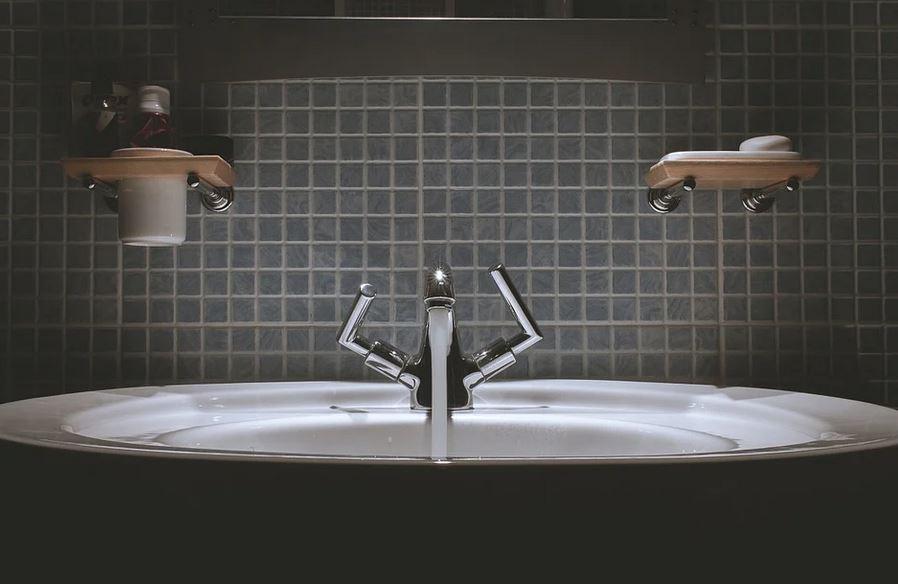 savon dans salle de bain